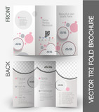 Beauty Care & Salon Tri-Fold Brochure Design