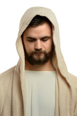Portrait of Jesus Praying