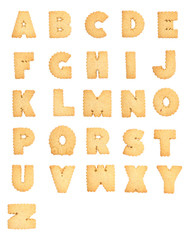 Letters of the British alphabet