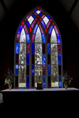 Holy Trinity Church Window Pakaraka