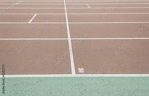 Measure Running Track