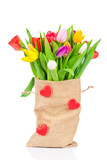 Tulips in the sack