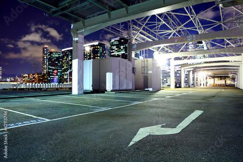 Outdoor parking lot - 62113746