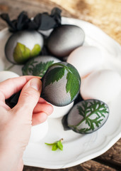 Stage Decoration of Easter Eggs