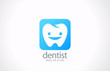 Dentist Logo vector icon design template. Dental clinic concept