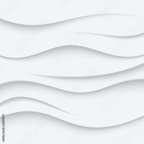 White Wavy lines vector Background abstract. Sand top view.