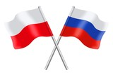 Flags : Poland and Russia