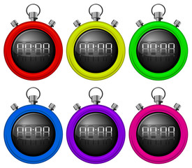 Colorful timers