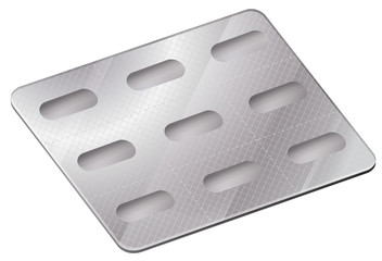 A pharmaceutical blister pack