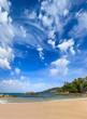 Patong beach in phuket island Thailand