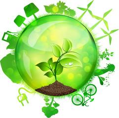 Sfera green energy, Farfalle