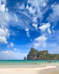 Beautiful bay of Phi Phi island  Thailand