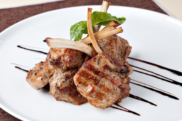 Roasted Lamb Chops