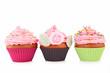 three cupcake