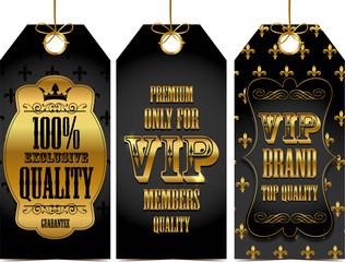 Vip quality tags