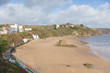 Tenby beach and coast Pembrokeshire Wales
