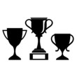 Vector cup silhouette