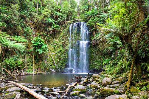 Deurstickers Watervallen waterfall Tasmania