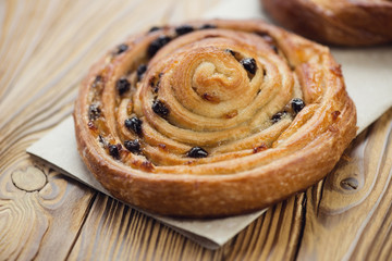 French roll bun, close-up, studio shot