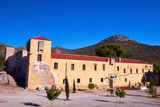 Monastery Gouvernetou of Chania in Crete, Greece.