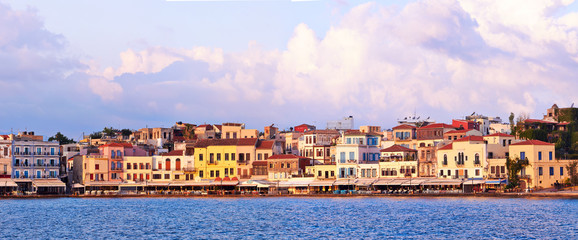 Chania embankment