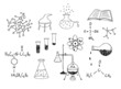 science and chemistry vector set