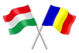 Flags : Hungary and Romania