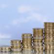 Münzen Konzept Thema Wachstum und Erfolg