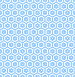 Seamless hexagons honeycomb pattern.