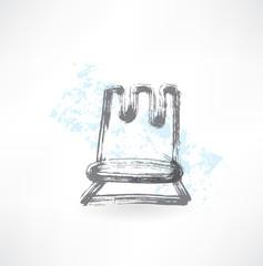 chess grunge icon