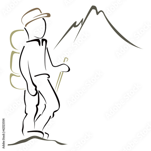 Mountaineering symbol