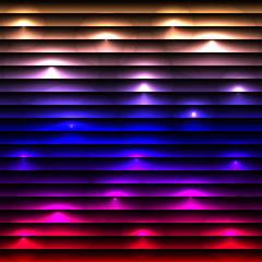 Abstract disco glowing background.