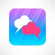 speech cloud icon