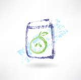 apple juice box grunge icon