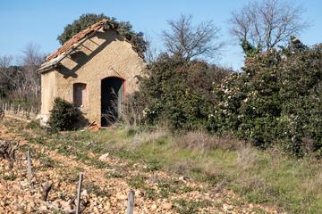 Cabane abandonnée
