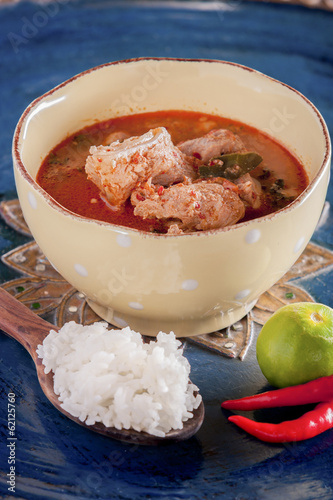 pork spicy curry