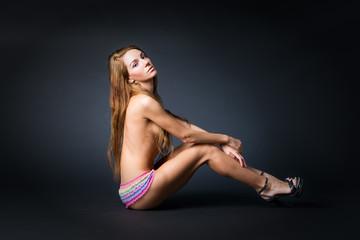 Young naked girl