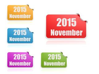 November of 2015