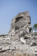 Destroy building