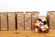 Brown Bags and Flowers