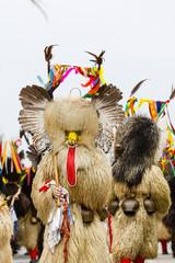Kurent, slovenian traditional Carnival costume