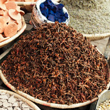 morrocan herbs flowers spices - anis star s- in the Marrakesh st
