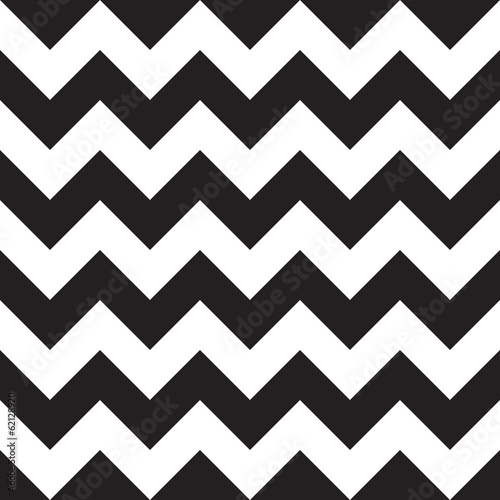 Black seamless chevron pattern