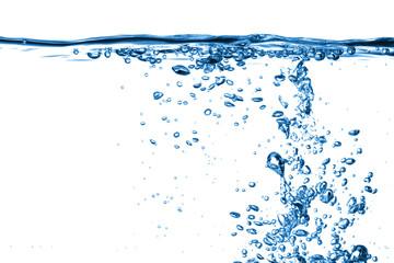 Wasser - Sprudel mit Blasen