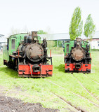 steam locomotives, Kostolac, Serbia