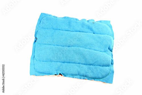 Blue Wipes isolated.