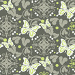 vector. floral background. seamless pattern. wallpaper