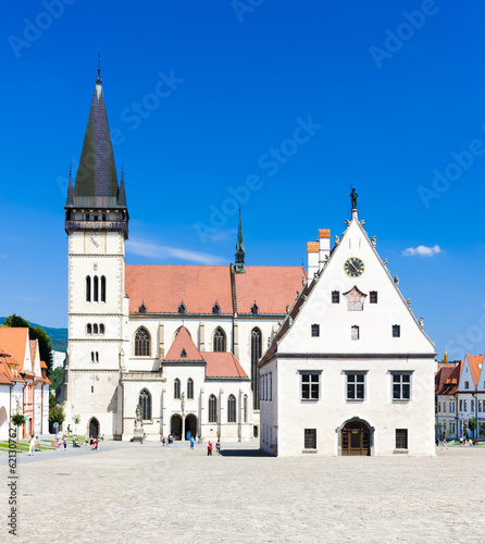 Town Hall Square, Bardejov, Slovakia - 62130762
