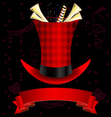 top-hat and fanfare