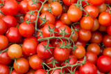 Cherry tomatos on a market